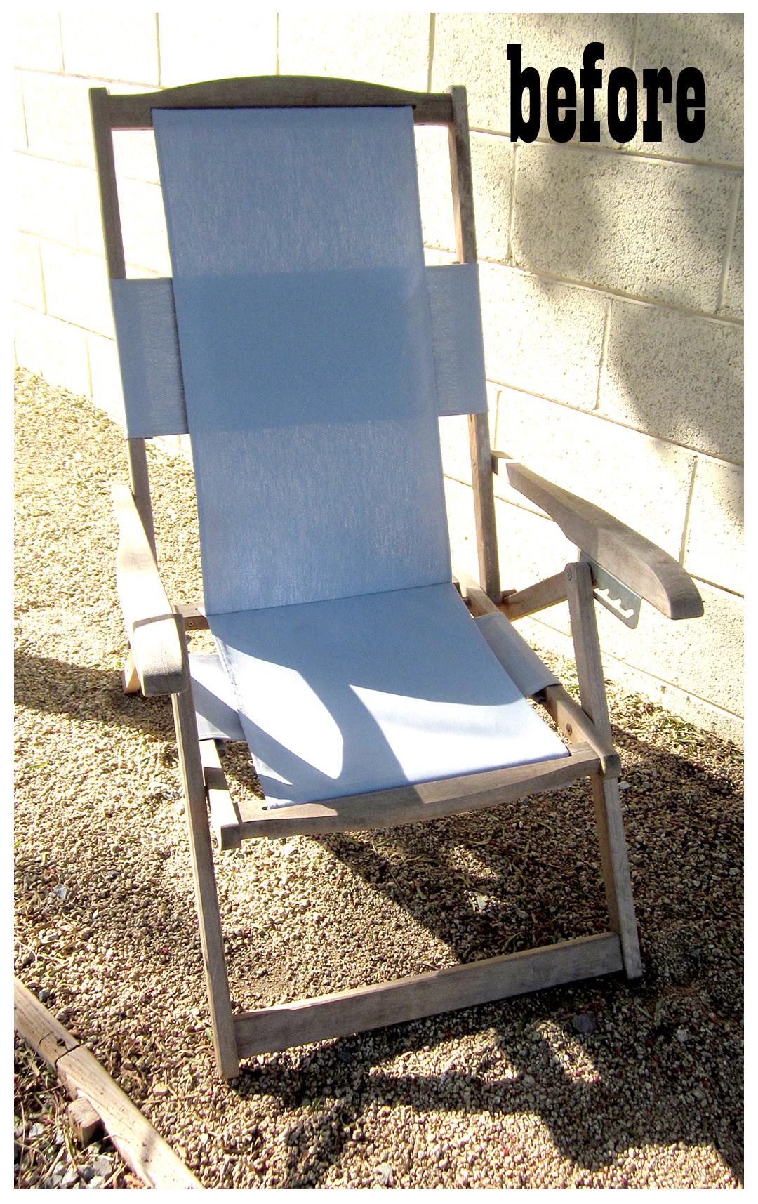 Wood Beach Chair Plans